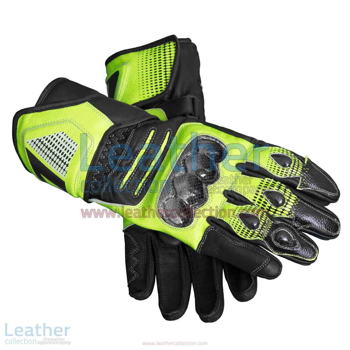 Valentino Rossi Motorcycle Race Gloves | Motorcycle race gloves