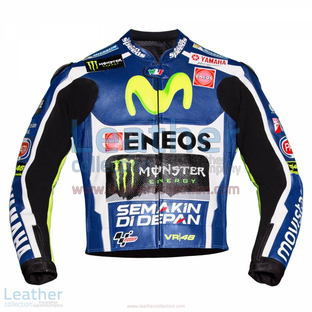 Valentino Rossi Movistar Yamaha 2016 MotoGP Race Jacket | Valentino Rossi Movistar Yamaha 2016 MotoGP Race Jacket