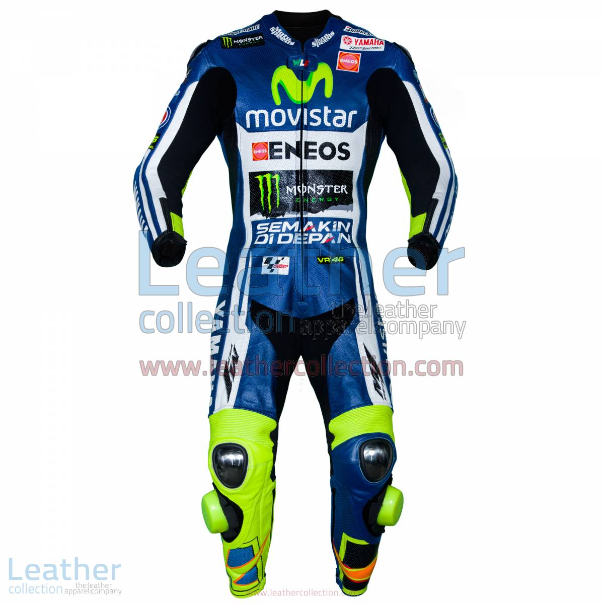 Valentino Rossi Movistar Yamaha M1 MotoGP Leathers | valentino rossi leathers