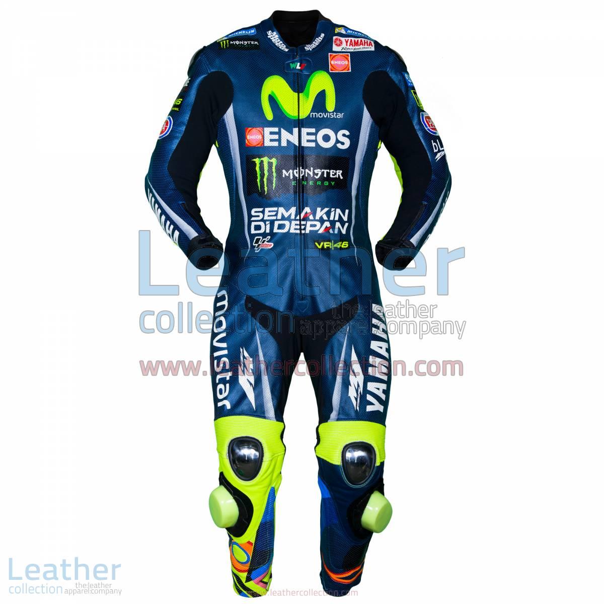 Valentino Rossi Movistar Yamaha MotoGP 2017 Race Suit | Valentino Rossi Suit