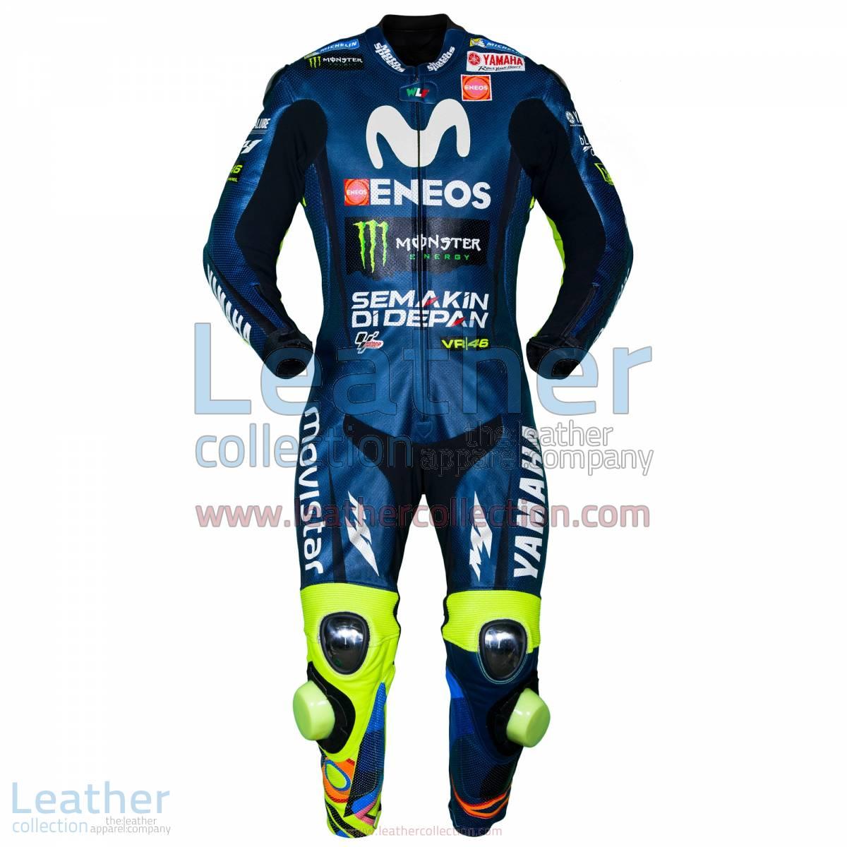 Valentino Rossi Movistar Yamaha MotoGP 2018 Race Suit | Valentino Rossi Movistar Yamaha MotoGP 2018 Race Suit
