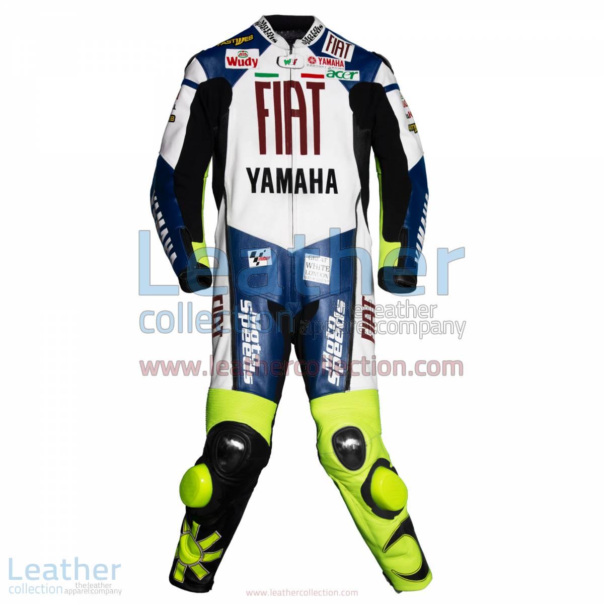 Valentino Rossi Yamaha Fiat MotoGP 2007 Leathers | valentino rossi leathers