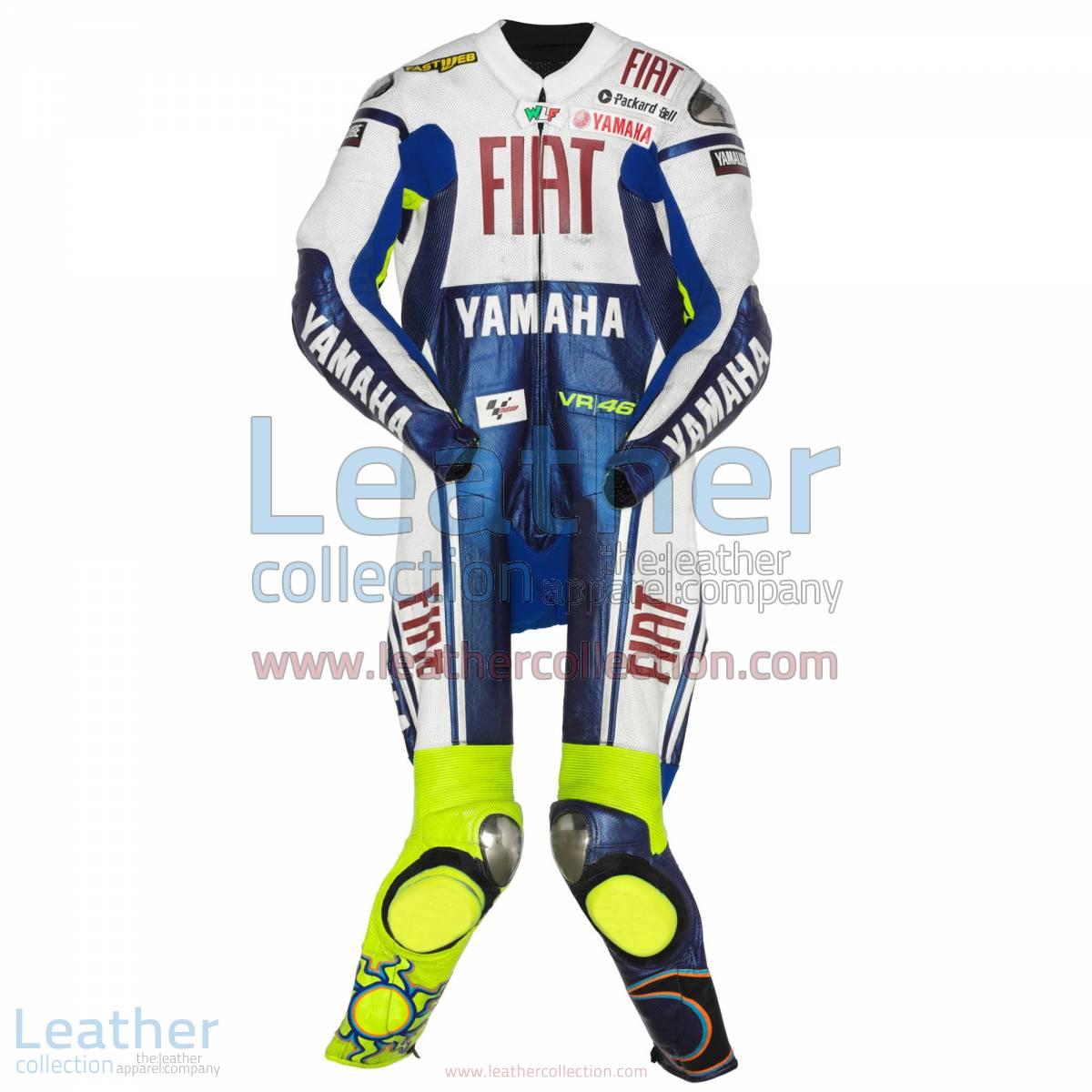 Valentino Rossi Yamaha Fiat MotoGP 2009 Suit | valentino rossi suit