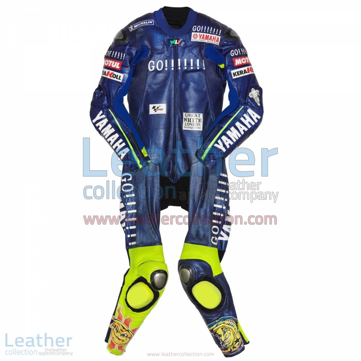 Valentino Rossi Yamaha MotoGP 2004 Race Suit | valentino rossi