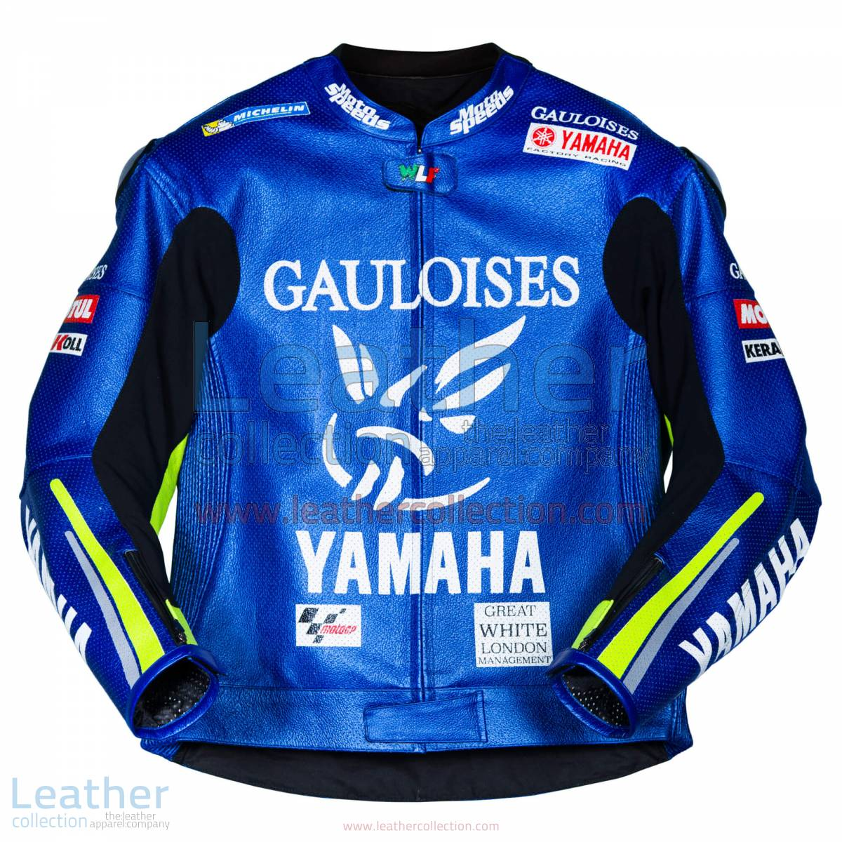 Valentino Rossi Yamaha MotoGP 2005 Leather Jacket | Valentino Rossi Yamaha MotoGP 2005 Leather Jacket