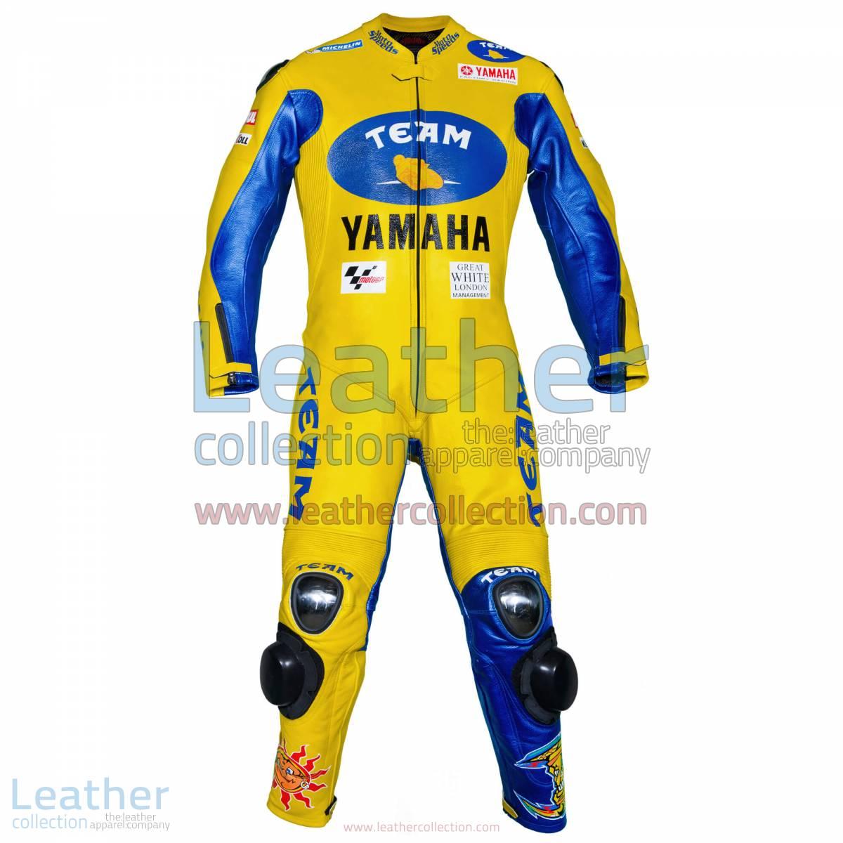 Valentino Rossi Yamaha MotoGP 2006 Racing Suit | valentino rossi racing suit