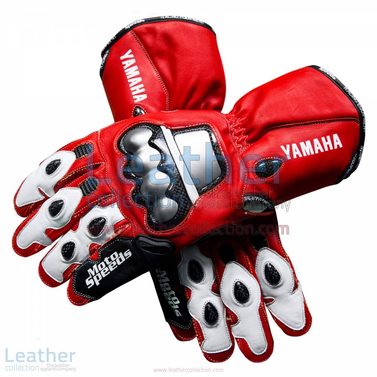 Valentino Rossi Yamaha MotoGP (Spain) 2005 Gloves   Valentino Rossi Yamaha MotoGP (Spain) 2005 Gloves