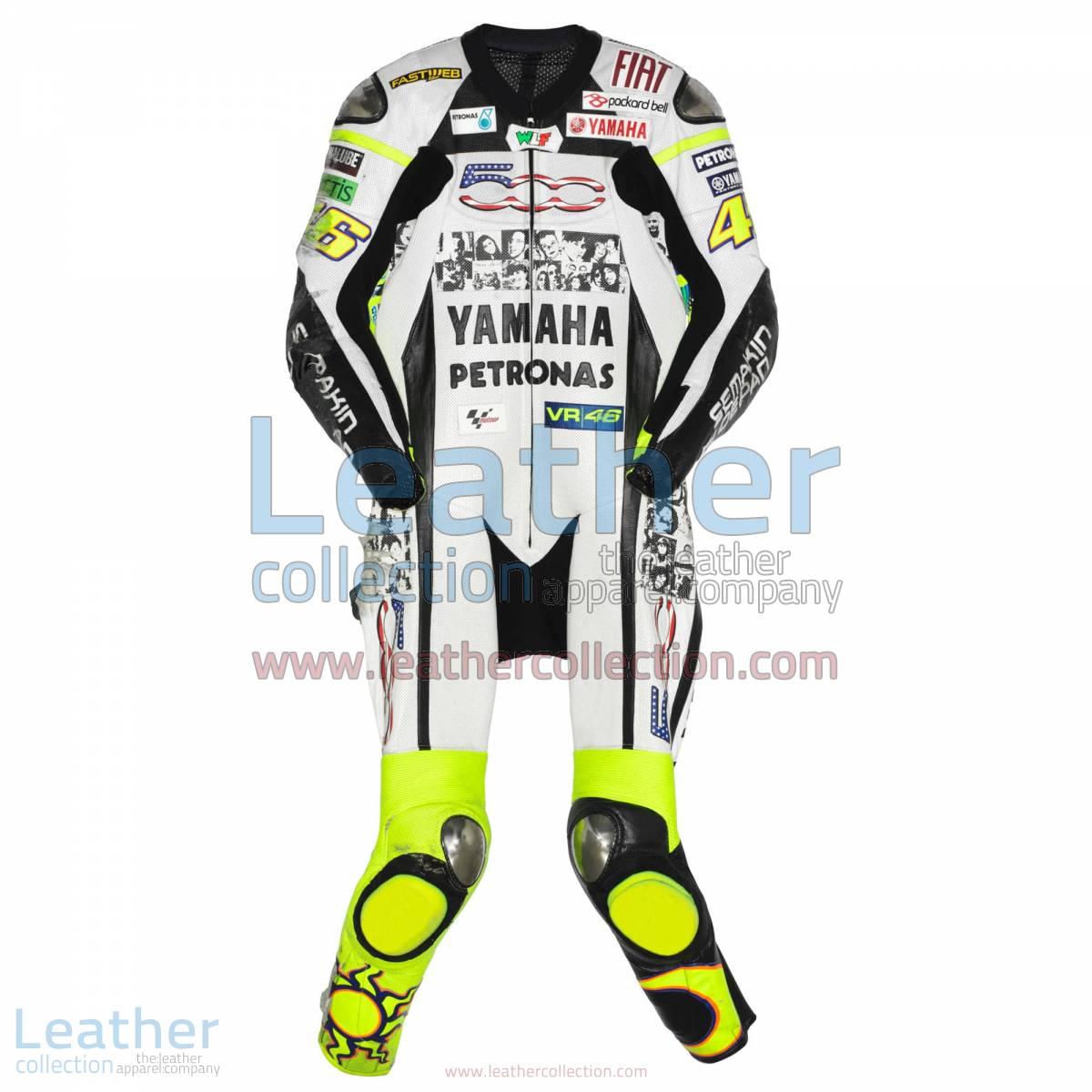 Valentino Rossi Yamaha Petronas MotoGP 2010 Suit | valentino rossi suit