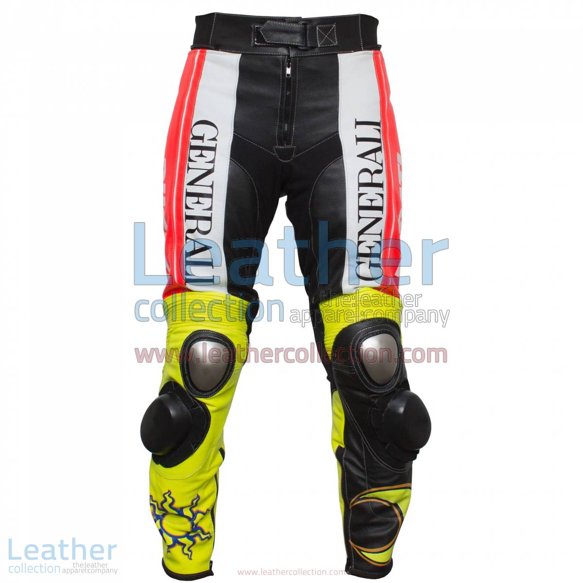 Valentino Rossi Ducati Corse Leather Pants | Valentino Rossi pants