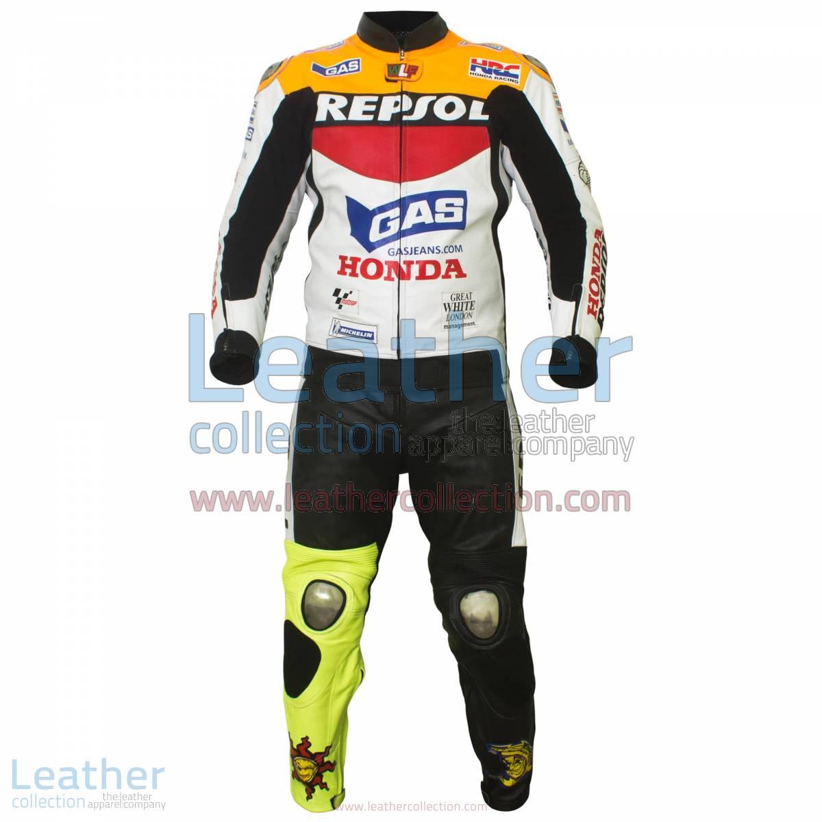 Valentino Rossi Repsol Honda MotoGP 2003 Leathers | valentino rossi leathers