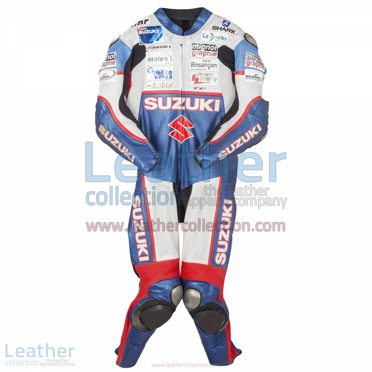 Vincent Philippe Suzuki 2013 Racing Suit | Suzuki racing suit