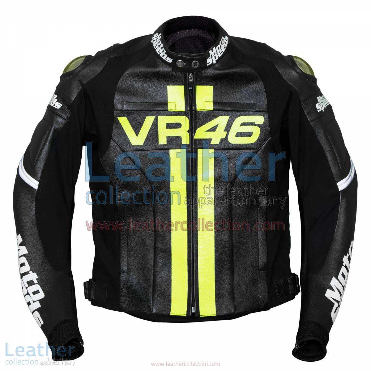VR46 Valentino Rossi Leather Jacket | VR46 leather jacket