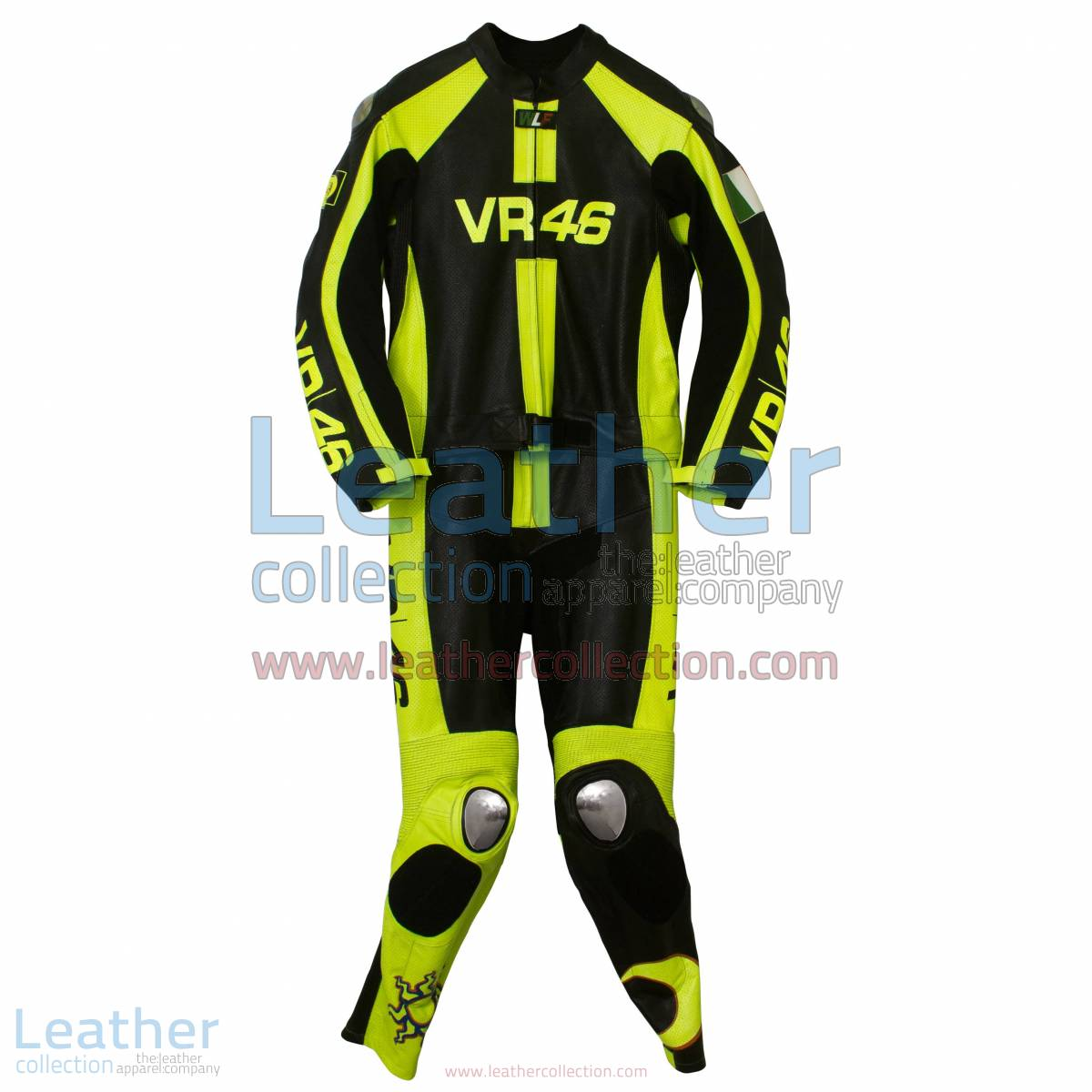 VR46 Valentino Rossi Motorcycle Race Suit | valentino rossi suit