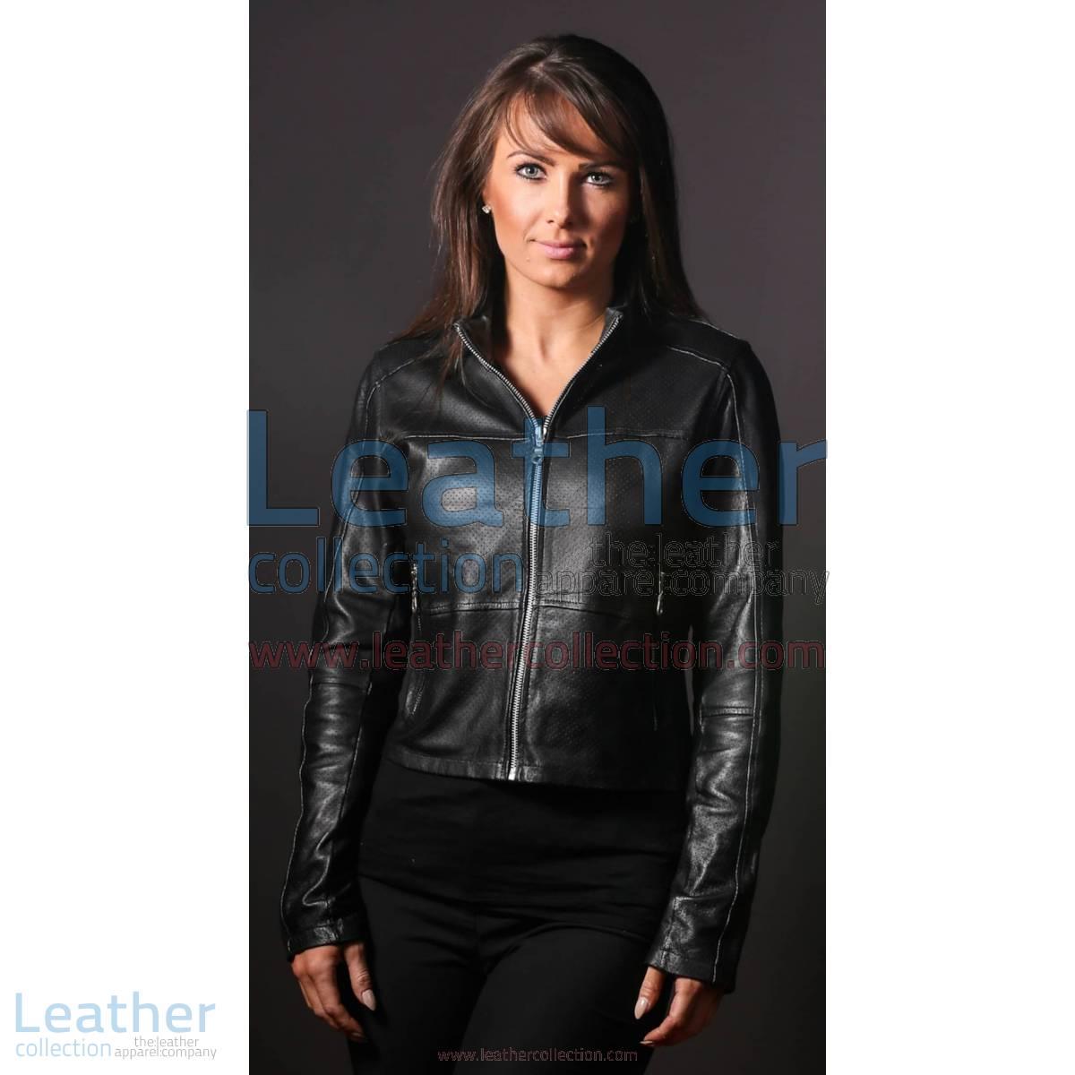 Women LeatherFashion Steel Jacket | steel jacket