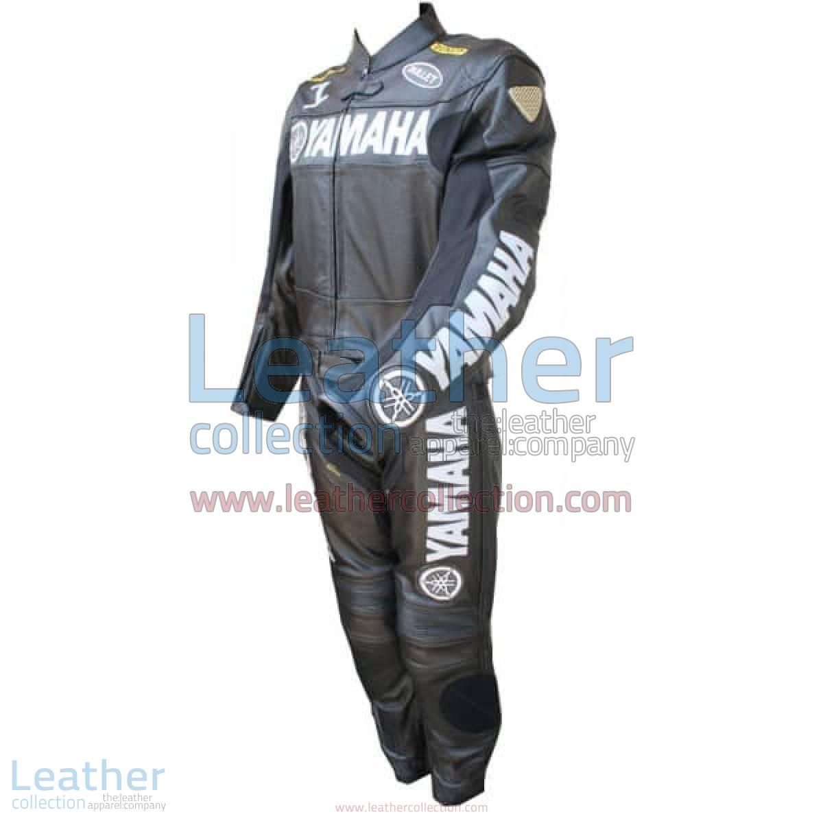 Yamaha Motorbike Leather Suit Black | yamaha leather suit