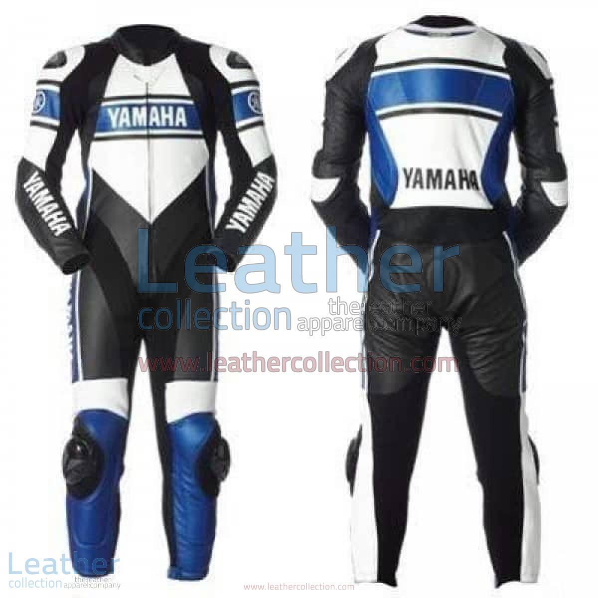 Yamaha Motorcycle Leather Suit Blue | yamaha leather suit