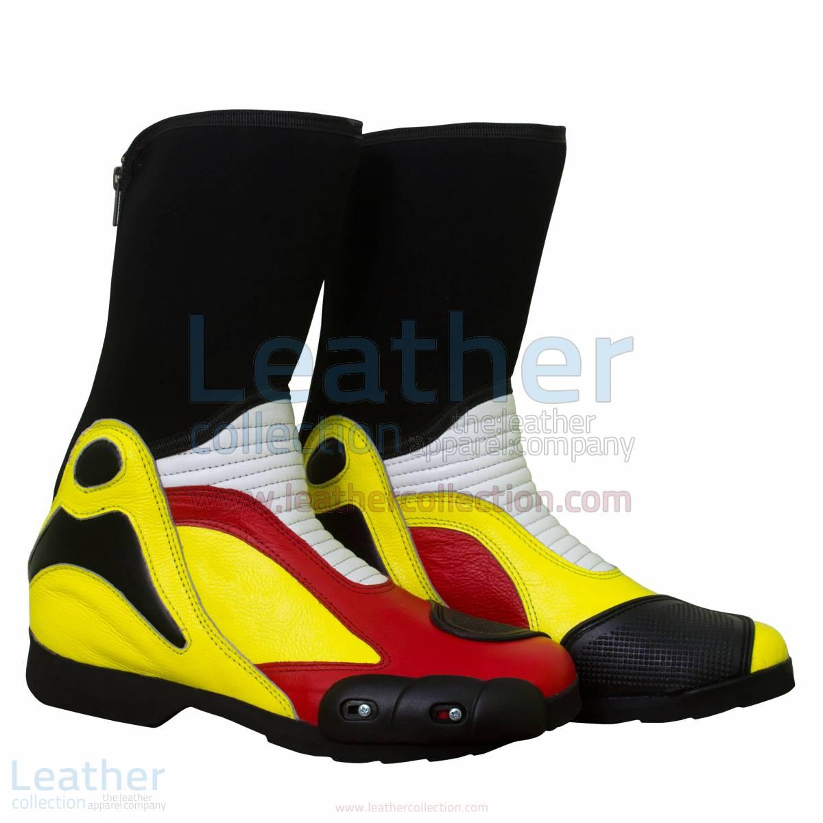 Andrea Iannone Motorbike Race Boots
