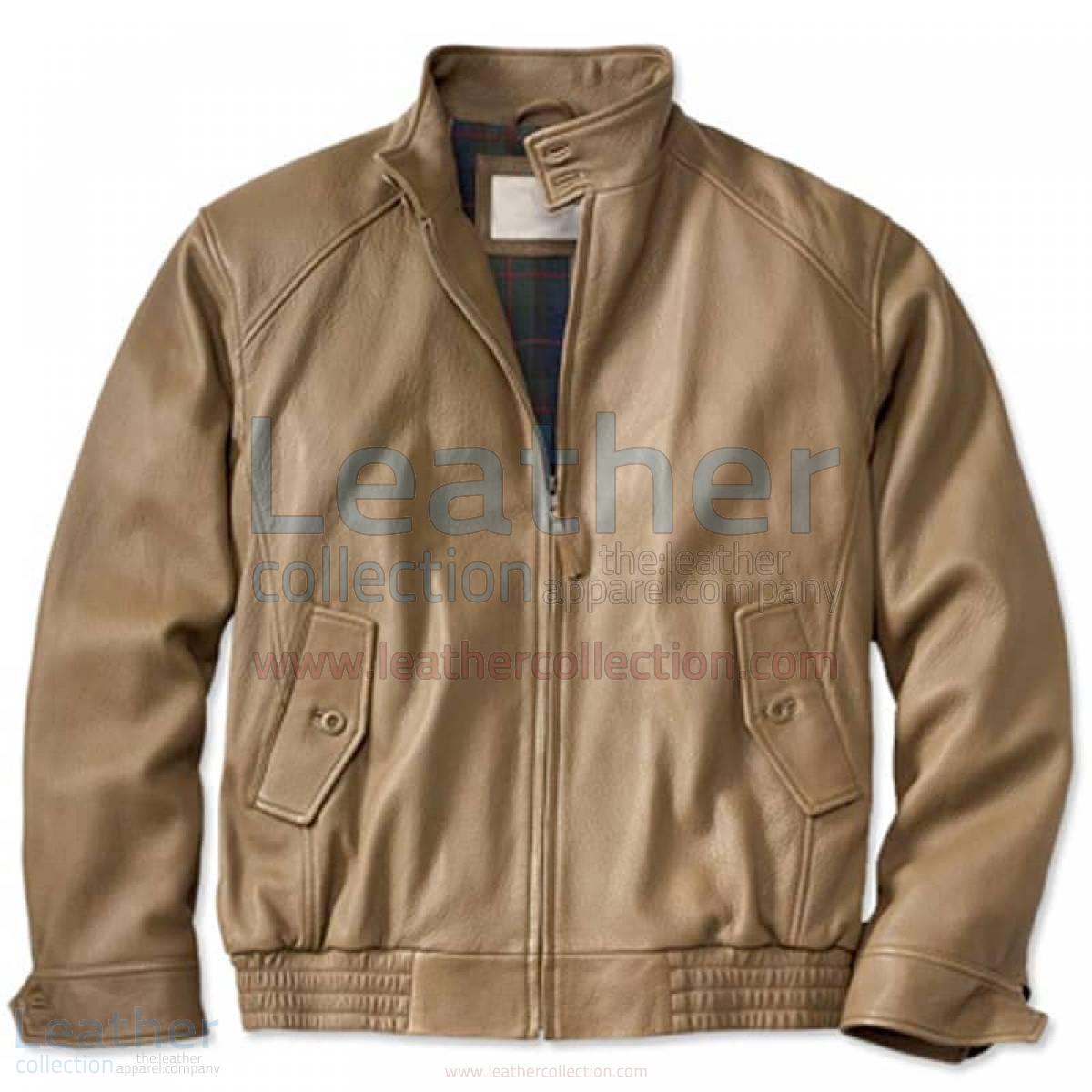 leather pilot bomber jacket