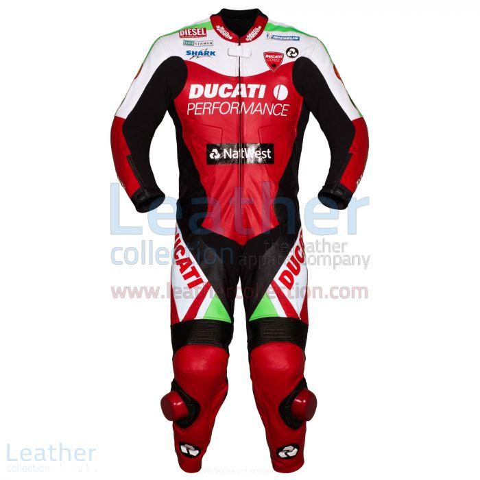 Carl Fogarty Racing Suit Ducati WSBK 1999 Front View