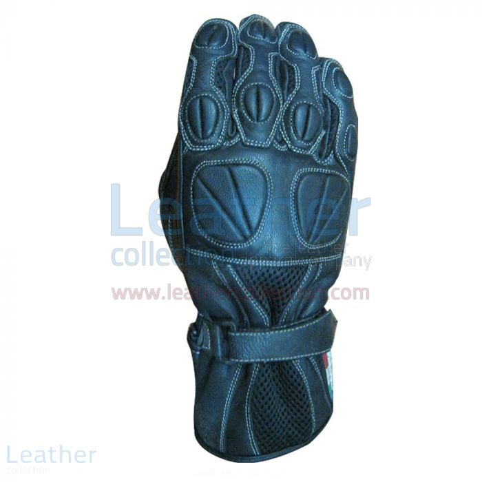 Classic Motorcycle Gloves Upper View