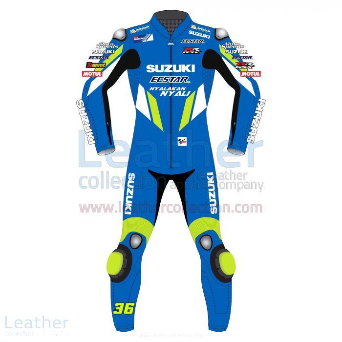 Joan Mir Suzuki MotoGP Traje Moto A Medida Vista Frontal