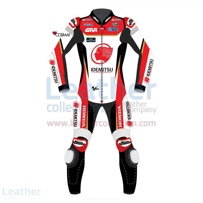 Takaaki Nakagami LCR Honda 2019 MotoGP Race Suit front view