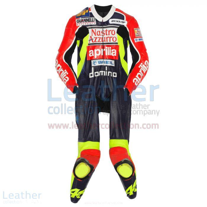 Valentino Rossi Leather Suit Aprilia GP 1998 Front View