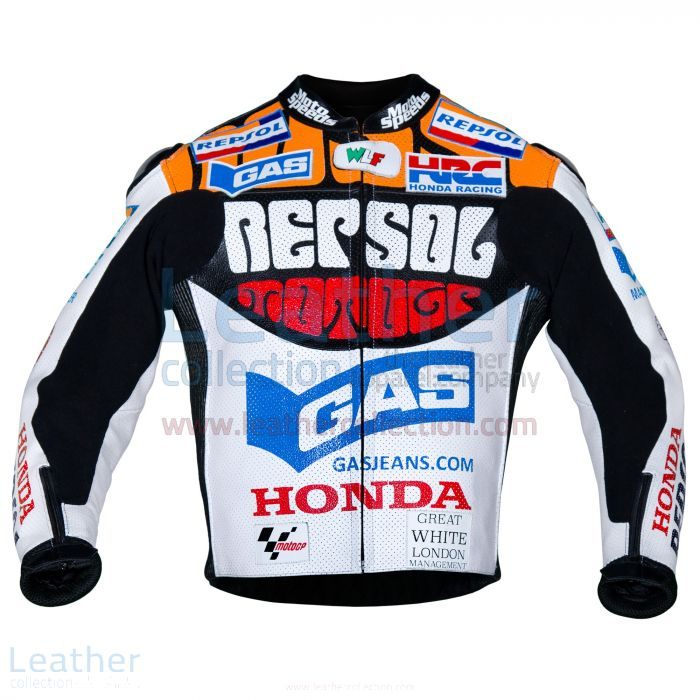 Valentino Rossi Motociclismo Repsol Honda MotoGP 2003 Jacket front view