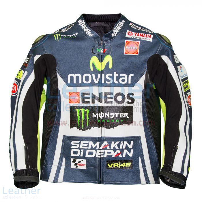 Valentino Rossi Movistar Yamaha M1 Leather Jacket front