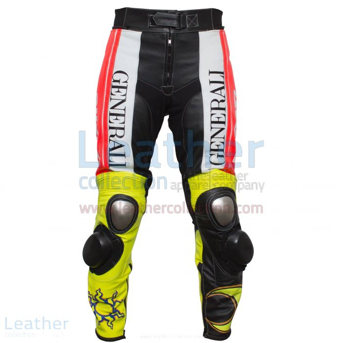 Valentino Rossi Ducati Corse Leather Pants front view